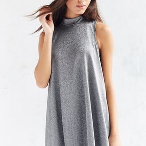 Silver Shimmering Trapeze   Dress from Fever Sz L